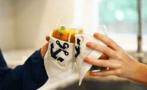 Skinny peach sangria recipe - FitLiving Eats by Carly Paige - 3