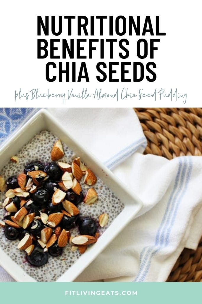 Nutritional Benefits of Chia Seeds - 1