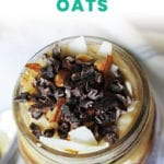 Almond Joy Overnight Oats + Recipe - FitLiving Eats by Carly Paige-01