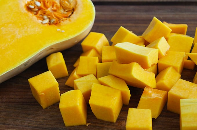 The nutritional benefits of butternut squash