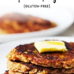 Zucchini Apple Carrot Pancakes Recipe - FitLiving Eats by Carly Paige-1-01