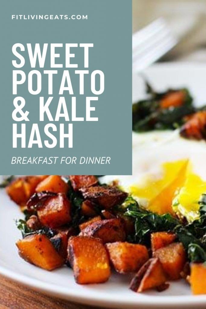 Sweet Potato and Kale Hash Breakfast for Dinner - 5