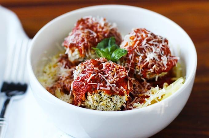 """Spaghetti and Bean """"Meatballs"""" Recipe (Gluten Free)"""
