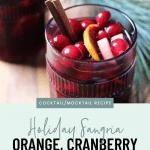 Festive Holiday Sangria Recipe - 4
