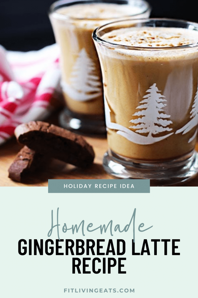 Homemade Gingerbread Latte Recipe - 4