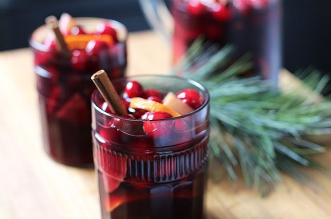 holiday sangria recipe