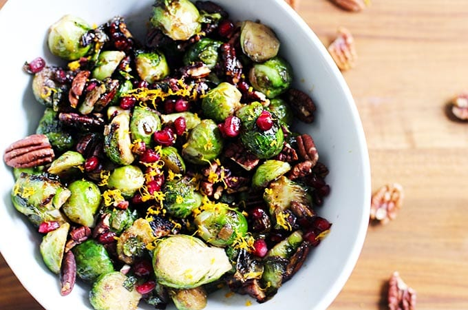 orange balsamic glazed brussels sprouts_featured