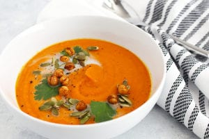 FitLiving Eats by Carly Paige - roasted butternut squash featured