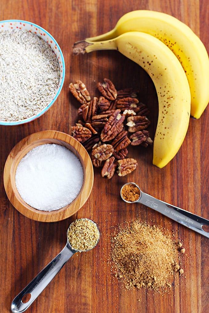 banana waffles ingredients