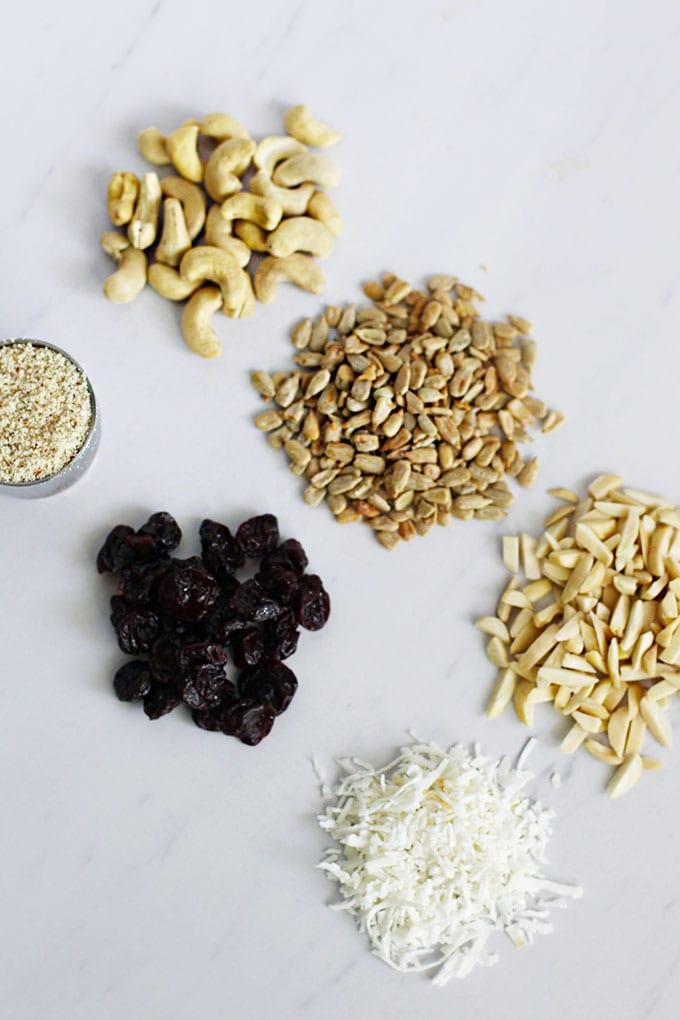 Tart Cherry and Almond Protein Granola