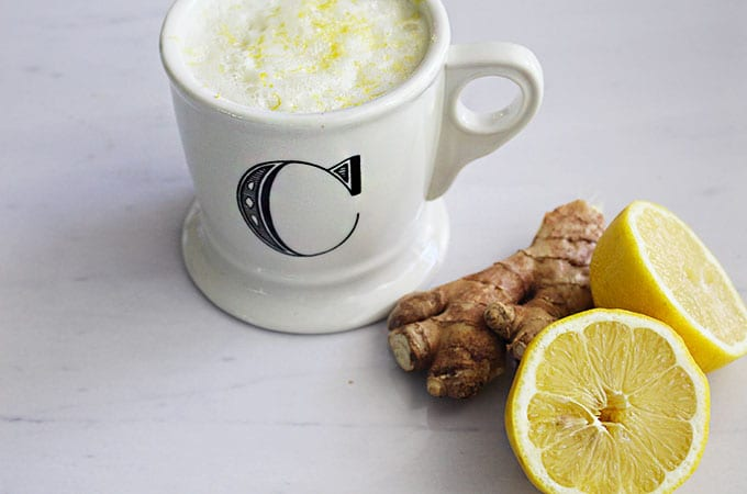 FitLiving Eats by Carly Paige | Recipes - hot-lemon-ginger-tonic
