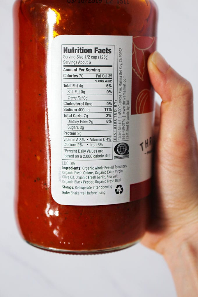label reading
