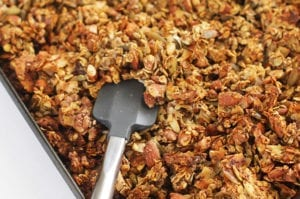 FitLiving Eats by Carly - Recipe - No Sugar Added Granola Clusters - featured