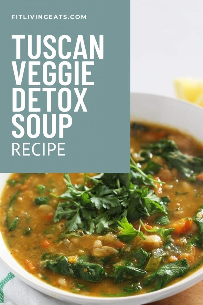 Tuscan Veggie Detox Soup Recipe 5