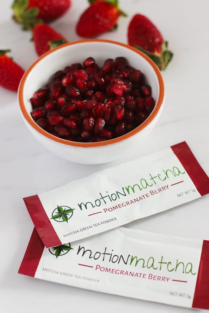 Pomegranate Berry Motion Matcha
