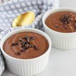 chocolate tofu pudding featured