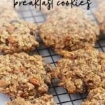 Gluten Free Vegan Oatmeal Breakfast Cookies Recipe - FitLiving Eats by Carly Paige-01