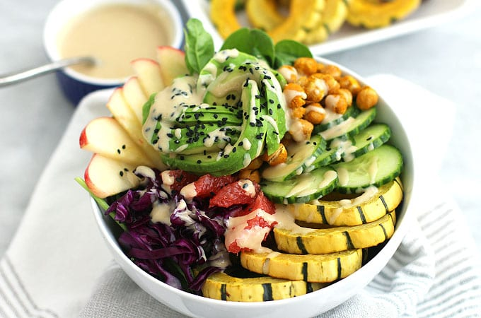 autumn harvest power bowl featured