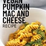 15 Minute Vegan Pumpkin Mac and Cheese Recipe 5
