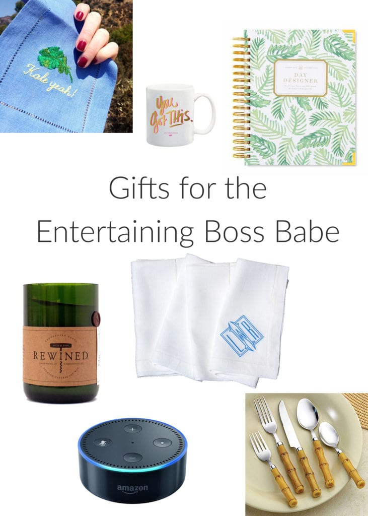 gifts for the entertaining boss babe