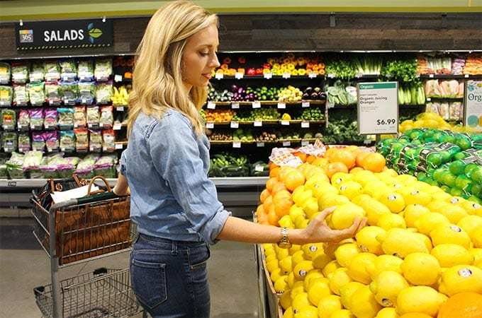 healthy grocery store tour