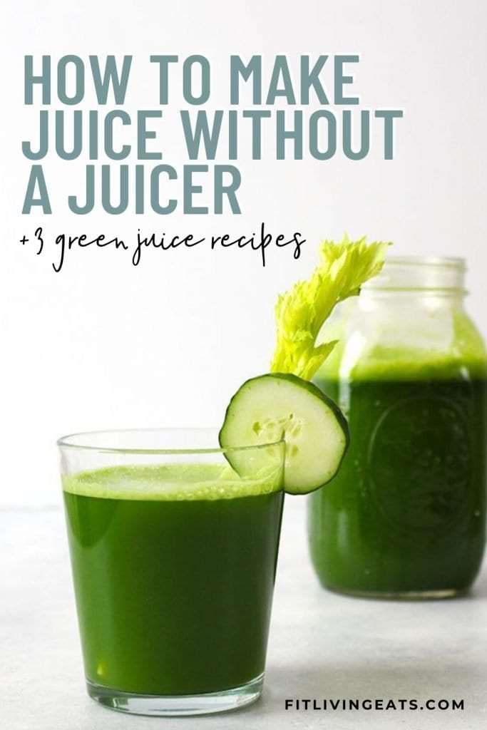 How to Make Juice Without a Juicer 5