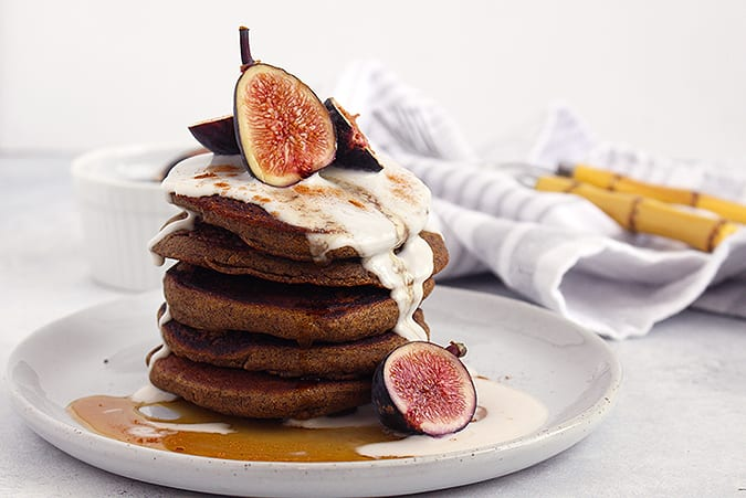 FitLiving-Eats-by-Carly-Paige_buckwheat pumpkin pancakes