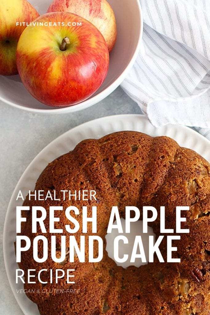 A Healthier Fresh Apple Pound Cake Recipe 5