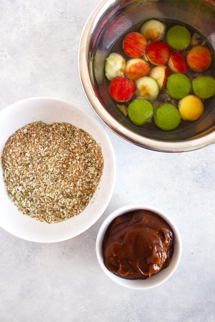 FitLiving Eats by Carly Paige - caramel apple pops recipe 1