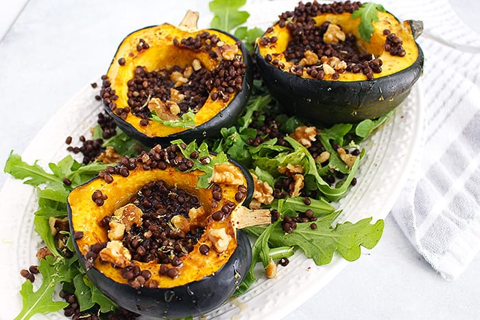 Heart Roasted Acorn Squash