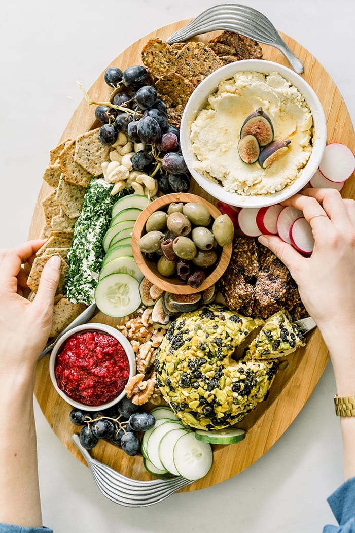 FitLiving Eats by Carly Paige Recipe - vegan charcuterie board 6