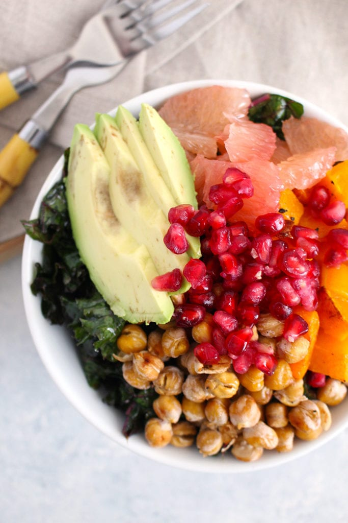 A Winter Harvest Power Bowl to Satisfy Your Sweet Tooth - FitLiving Eats by Carly Paige - 1