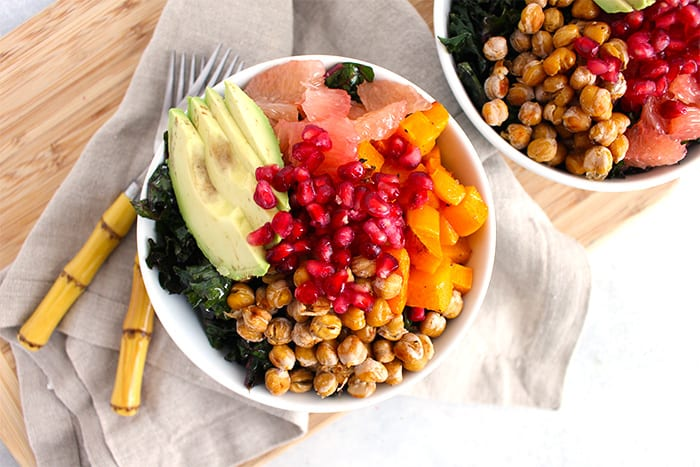 A Winter Harvest Power Bowl to Satisfy Your Sweet Tooth - FitLiving Eats by Carly Paige - Featured