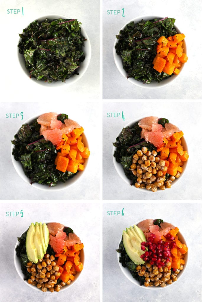 A Winter Harvest Power Bowl to Satisfy Your Sweet Tooth - FitLiving Eats by Carly Paige - Steps-01