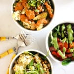 FitLiving Eats by Carly Paige - Recipe - power bowl sauces featured