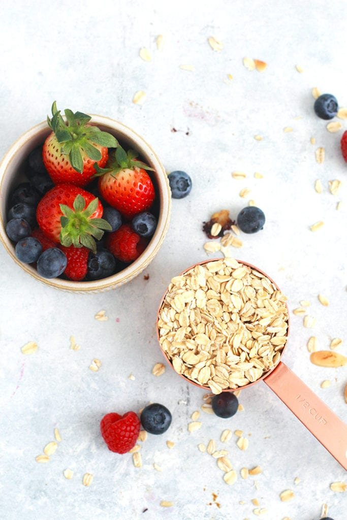 FitLiving Eats by Carly Paige - Recipes - berry oatmeal cups 1