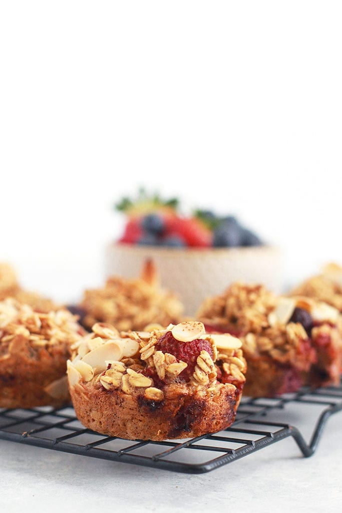 FitLiving Eats by Carly Paige - Recipes - berry oatmeal cups 3
