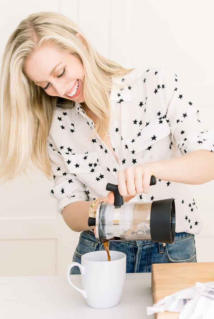 healthier morning routine - simple swaps - coffee