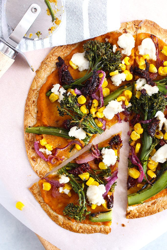 FitLiving-Eats-by-Carly-Paige-butternut-squash-tortilla-pizza-pinterest