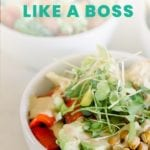 Master Power Bowl Meal Prep Like a Boss - FitLiving Eats by Carly Paige - PIN-01
