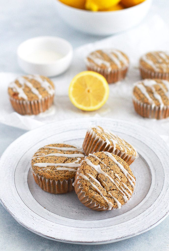 FitLiving Eats by Carly Paige RECIPE lemon poppyseed muffins 3