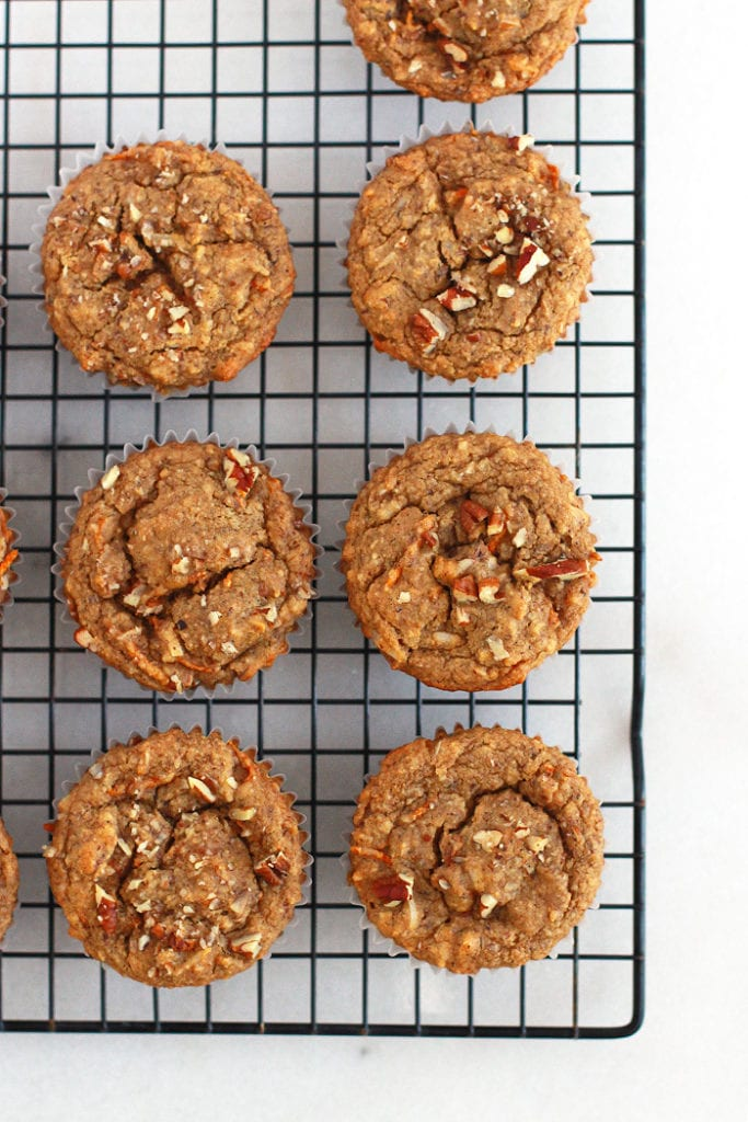 FitLiving Eats by Carly Paige - carrot cake muffins 1