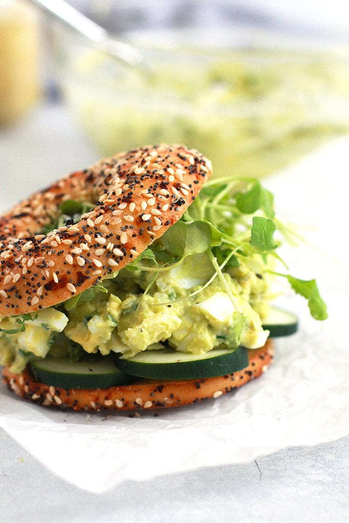avocado egg salad 3 Recipe - FitLiving Eats by Carly Paige