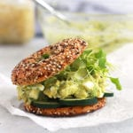 avocado egg salad featured Recipe - FitLiving Eats by Carly Paige
