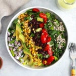mexican cobb salad featured recipe - FitLiving Eats by Carly Paige