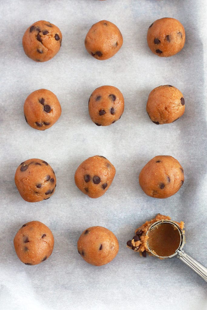 cookie dough energy bites 1 Recipe - FitLiving Eats by Carly Paige
