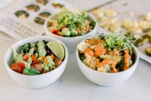 10 Delicious and Healthy Pantry Staple Meal Ideas - FitLiving Eats by Carly Paige Power Bowl