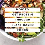 How to Get Protein Through Plant-Based Foods