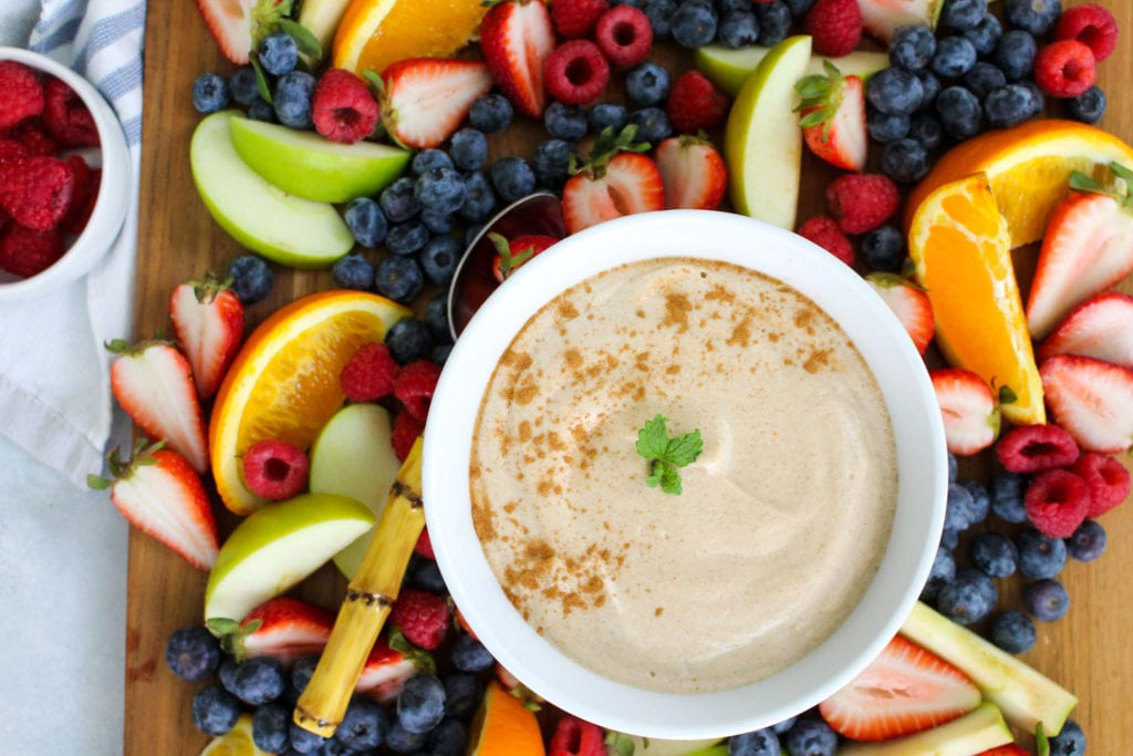 Maple-Cinnamon-Cashew-Fruit-Dip-Recipe---FitLiving-Eats-by-Carly-Paige-feat