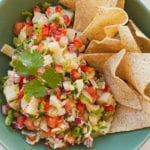 hearts of palm ceviche guest chef noeli recipe - fitliving eats by carly paige